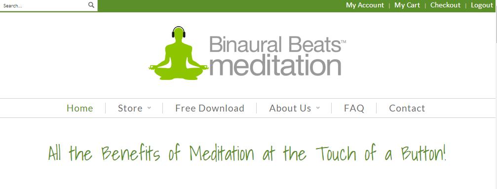 homepage binaural beats