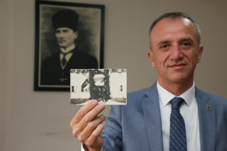 Atatürkün daha önce hiç görülmeyen fotoğrafı...