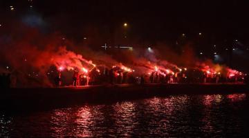 Göztepe Kulübünün 96. kuruluş yıl dönümü coşkuyla kutlandı