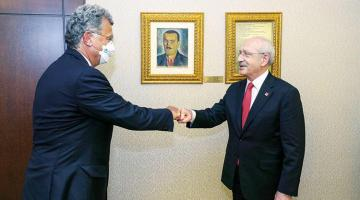 Kılıçdaroğlu TÜSİAD heyetini kabul etti