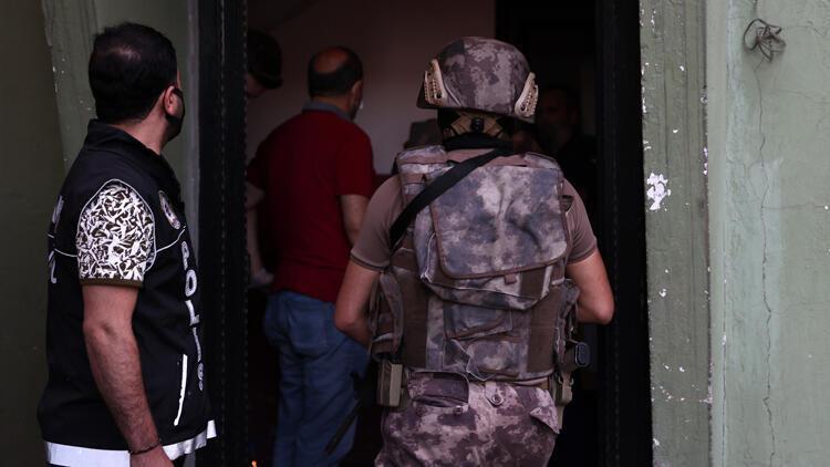 Pendik'te uyuşturucu satıcılarına operasyon