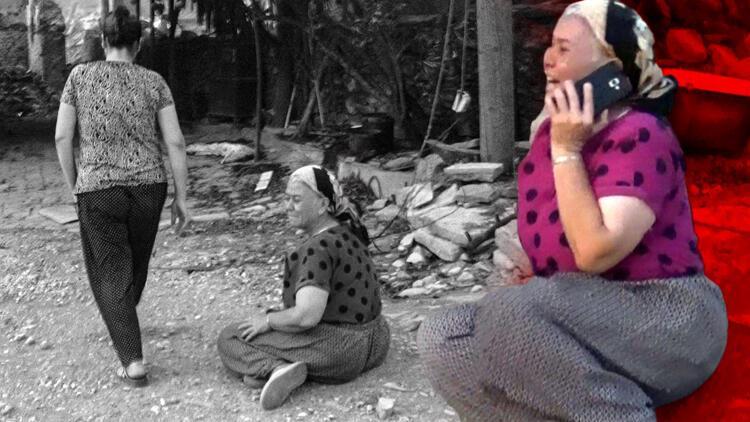 Yürek burkan görüntüler… 'Böyle acı mı olur Allah'ım… Nerede kalacağız?'