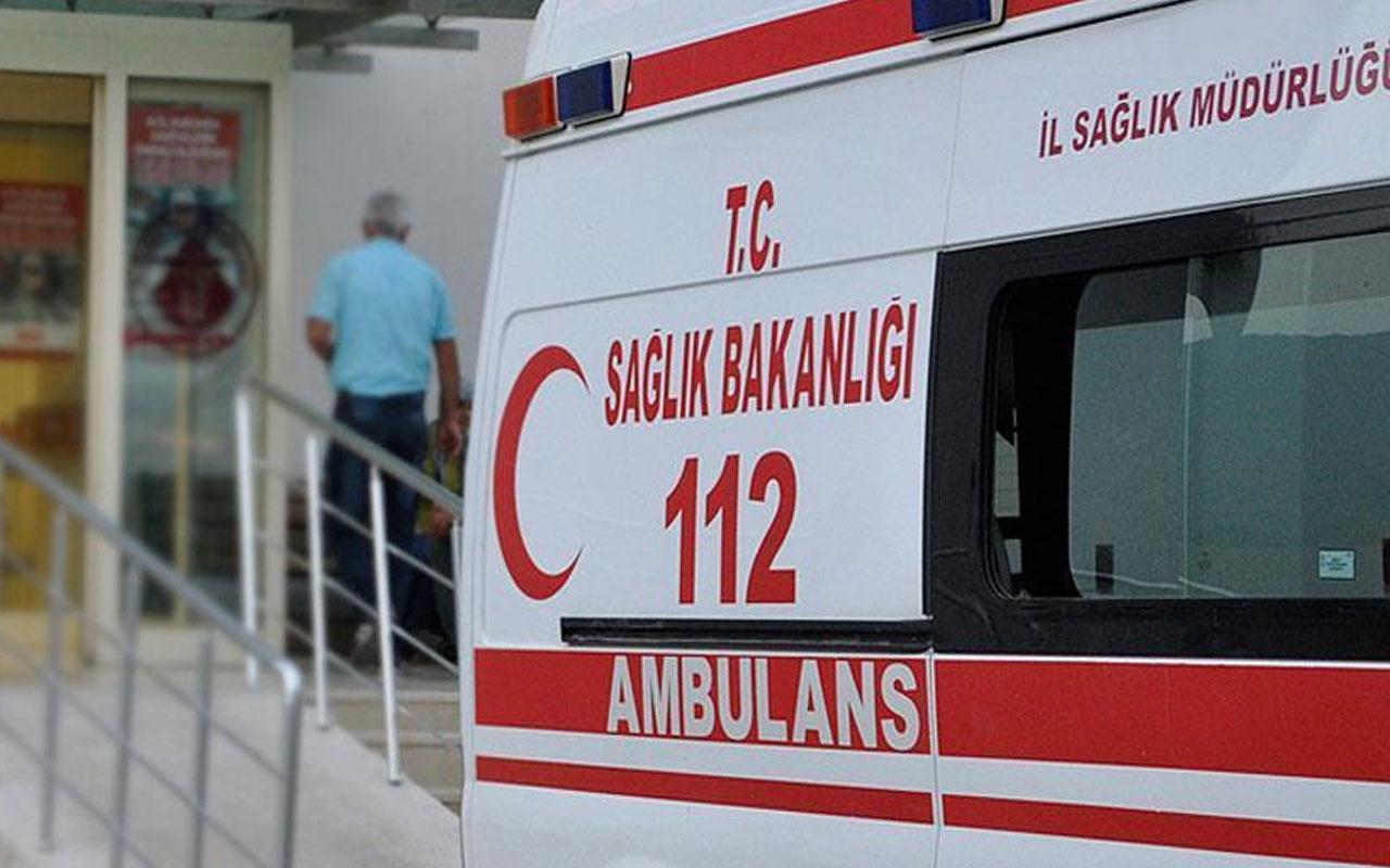 Bartın'da işçi servisi devrildi! Kazada 11 kişi yaralandı