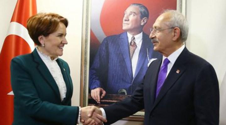 İYİ Parti'den Kemal Kılıçdaroğlu'na HDP desteği! 'HDP meşru bir partidir'