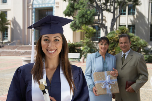 73532161-female-graduate-student-and-parents-outside-gettyimages