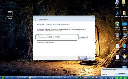 Windows'da MS_DOS İşletim Sisteminin Kullanılması
