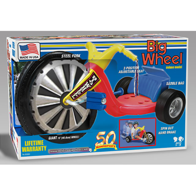 Big Wheel® 50th Anniversary Special Edition