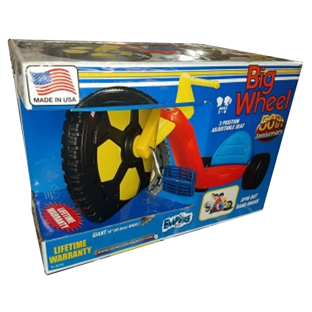 Big Wheel® 50th Anniversary 16″ Spin Out Edition (open box)