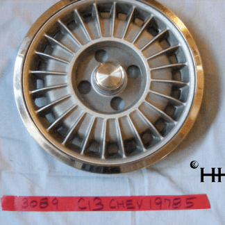 front view of hubcap # c13chev1978_5