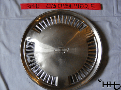 front view of hubcap # c13chev1982_5