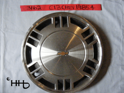 front view of hubcap # c13chev1985_4
