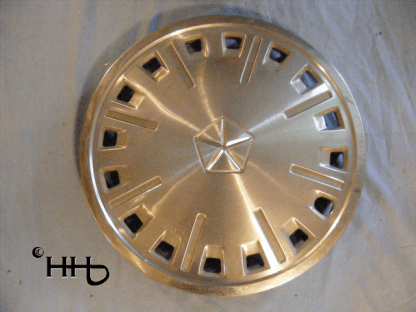 front view of hubcap # c13dodg1984_1