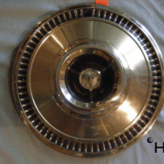 front view of hubcap # c14chry1963_2