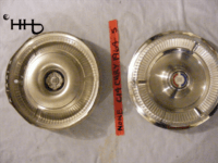 Back and front view of hubcap # c14chry1964_5