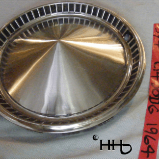 front view of hubcap # c14dodg1964_1