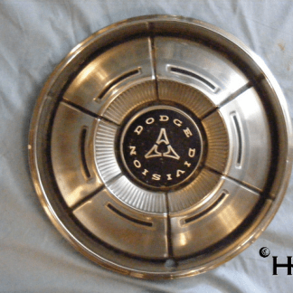 front view of hubcap # c14dodg1970_5