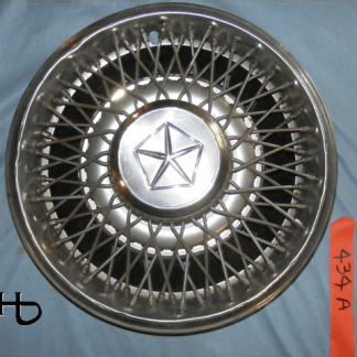 front view of hubcap # w14chry1982_8
