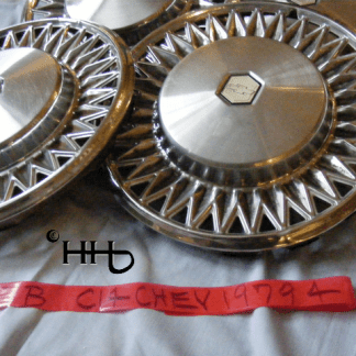 2cd group view of hubcap # c14chev1979_4