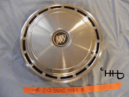 front view of hubcap # c13buic1982_5