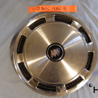 front view of hubcap # c13buic1982_8