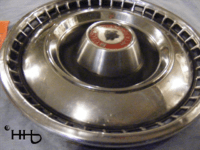 profile view of hubcap # c15buic1967_1