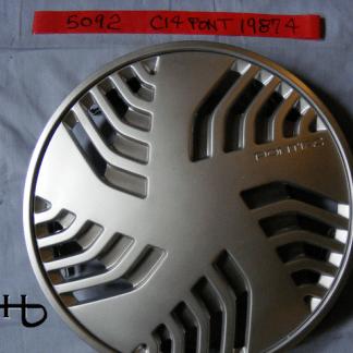 front view of hubcap # c14pont1987_4
