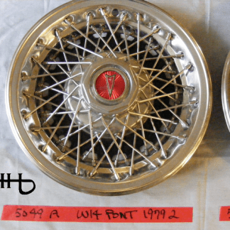 front view of hubcap # w14pont1979_2