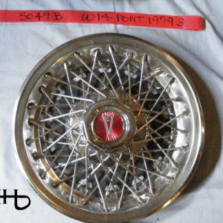 front view of hubcap # w14pont1979_3
