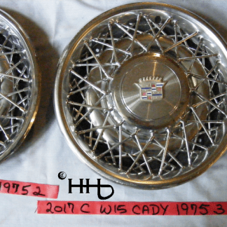 front view of hubcap # w15cady1975_3