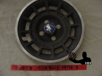 front view of hubcap # c13buic1979_9