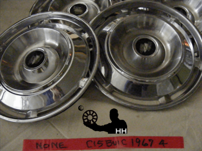 front view of hubcap # c15buic1967_4