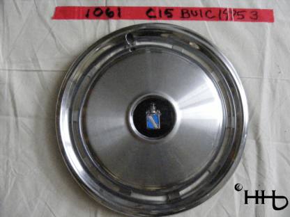 front view of hubcap # c15buic1975_3