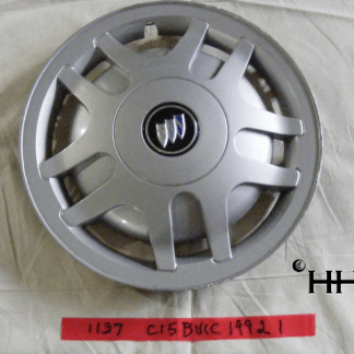 front view of hubcap # c15buic1992_1