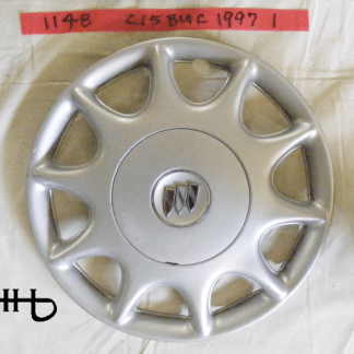 front view of hubcap # c15buic1997_1