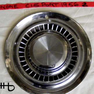 front view of hubcap # c15pont1956_2