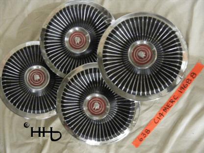 group view of hubcap # c14merc1968_8