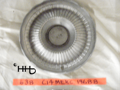 back view of hubcap # c14merc1968_8