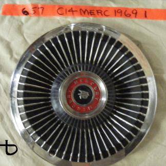 front view of hubcap # c14merc1969_1