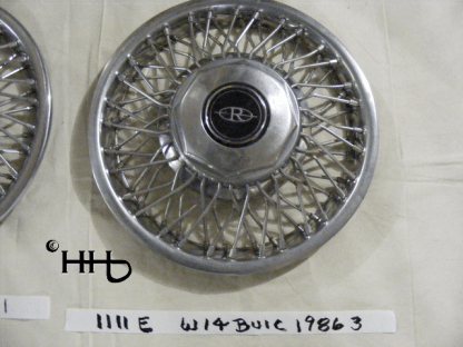 front view of hubcap # w14buic1986_3