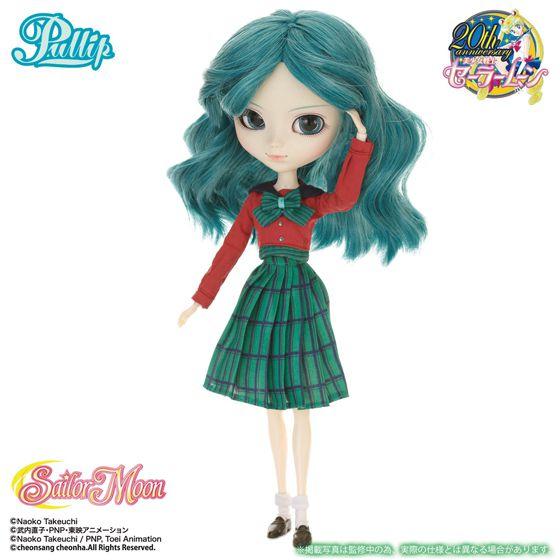 美少女戰士 : 日版 「海王星 海王滿」Pullip Fashion Doll (ONLINESHOP 限定版 附校服) : buyway.hk