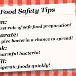 Follow The 3 Guidelines To Keep Food Safe