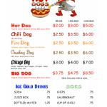 Hot Dog : Hot Dog Cart Menu Ideas