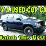 Used Police Cars For Sale – Secrets to Buying a Used Cop Car