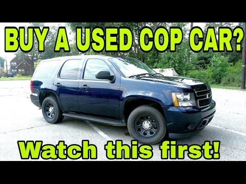 Police Cars For Sale >> Used Police Cars For Sale Secrets To Buying A Used Cop Car