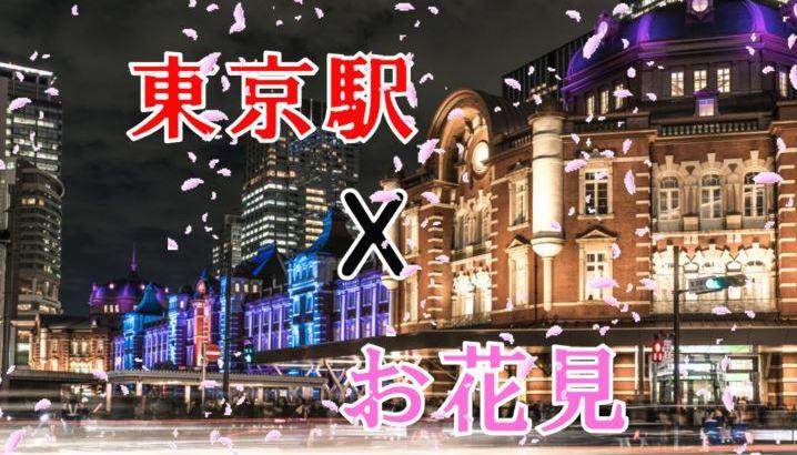 【定番&穴場】東京駅周辺で行くべきお花見厳選スポット情報をお届け!