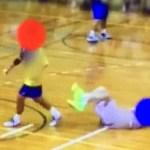 悪質ひじ打ち!画像をみると明らかに打っている?桃山学院と浪商高校のハンドボールインターハイ予選決勝で起きたプレーに桃山学院の木村監督は怒りを抑えられない。