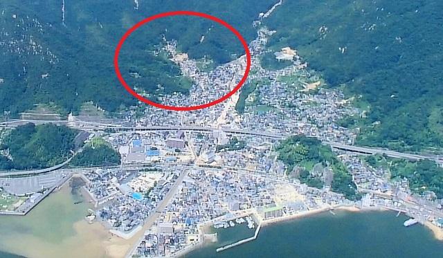 呉市の土石流の恐怖は続く。砂防ダムの破壊は予測不可能。河川、ため池決壊、土石流の恐怖。線状降水帯による西日本豪雨被害はまだ継続している。