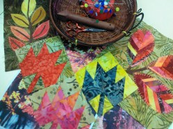 foliage paper piecing