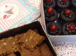 Crunchies & chocolate cupcakes