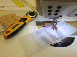 Just Take 2 - paper piecing